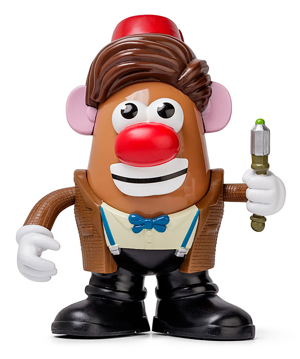 A Doctor Who Mr. Potato Head. Perfect if Mash Smith is your favorite Doctor.