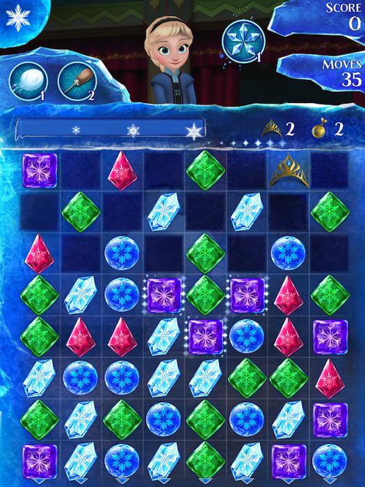 Frozen Free Fall Game | Cool Mom Tech