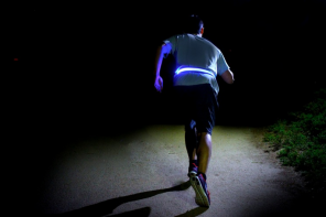 The Halo Belt is the new must-have safety device for every cyclist, runner, and parent.