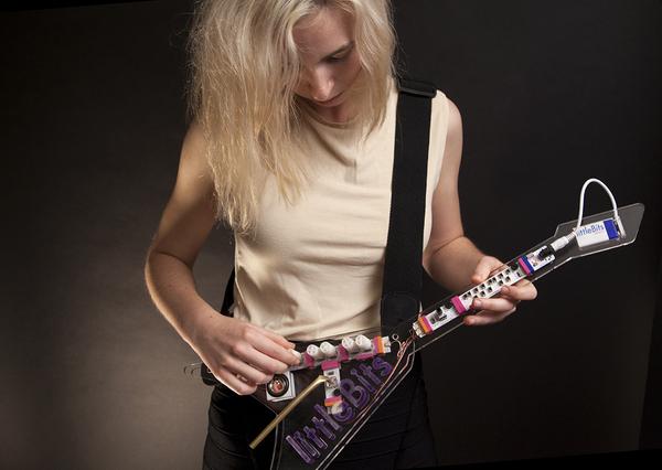 littleBits Synth Kit Keytar Project | Cool MomTech