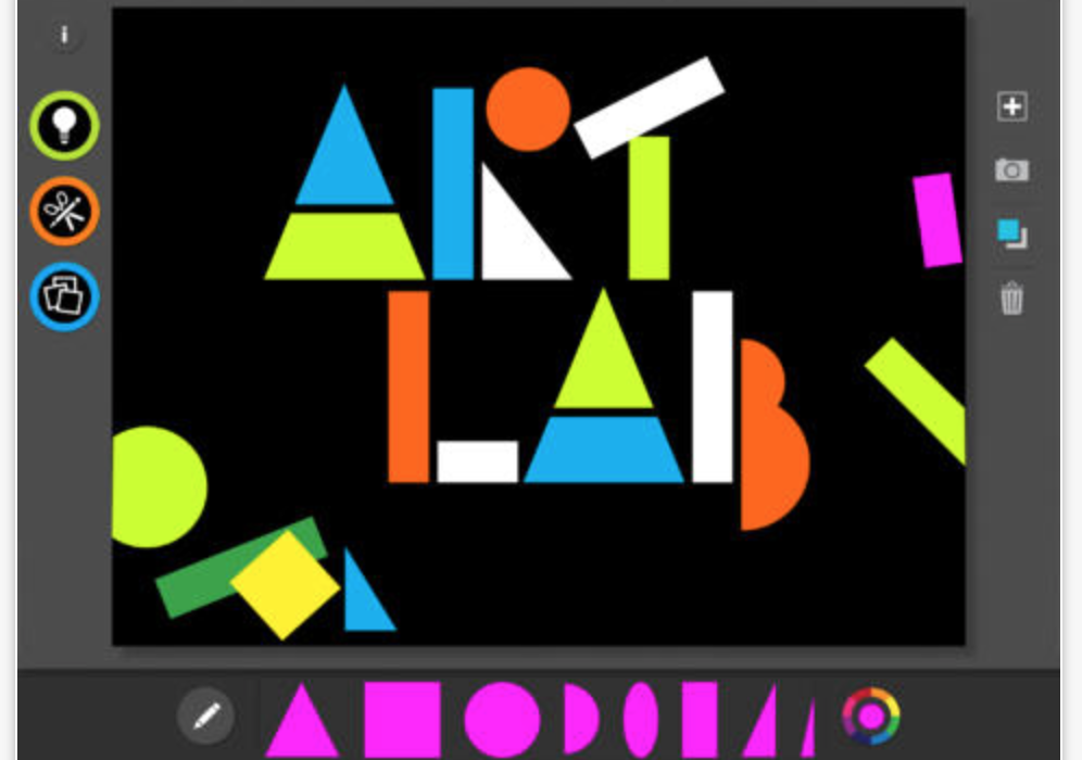 The best apps for kids of the year: MoMA Art Lab app