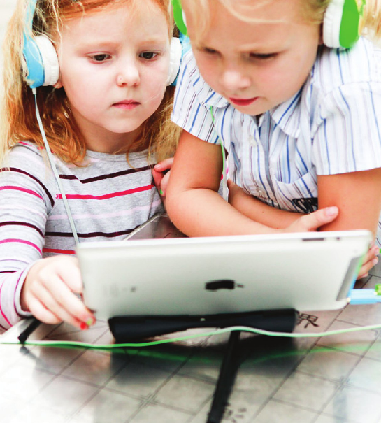 Volume limiting headphones for kids with splitter - Buddyphones | Cool Mom Tech