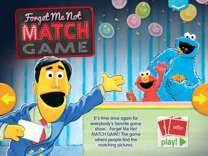 Sesame Street S'More digital magazine for preschoolers - screenshot