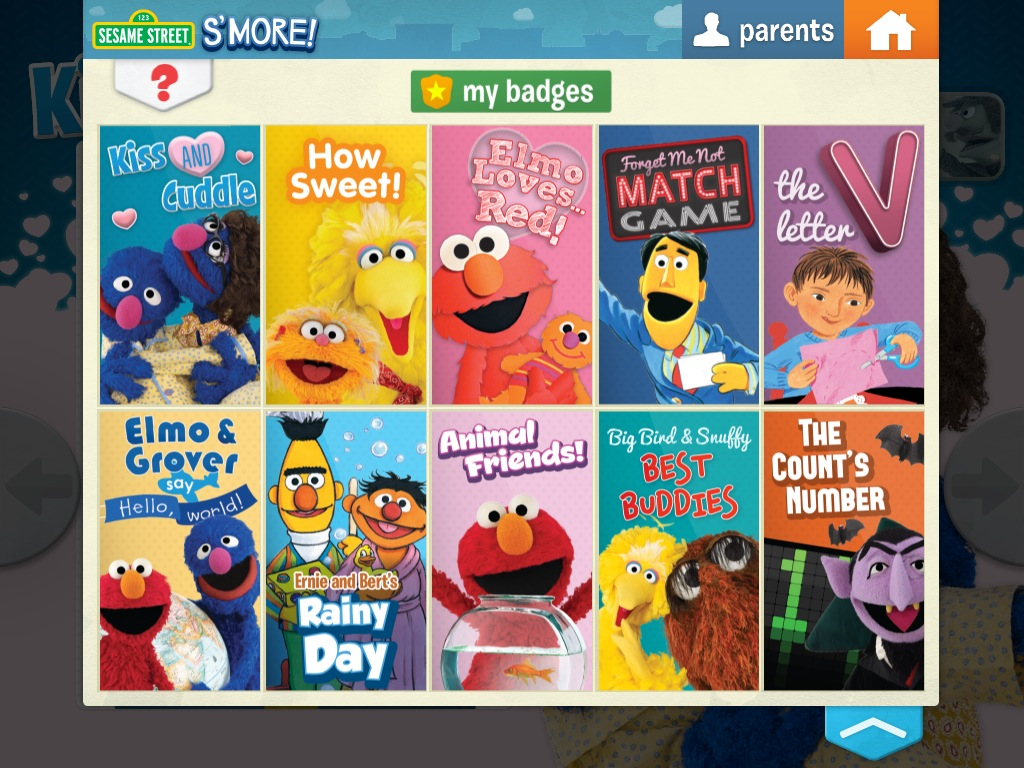 The new Sesame Street S'More digital magazine is brought to you by the letter E, for Excellent.