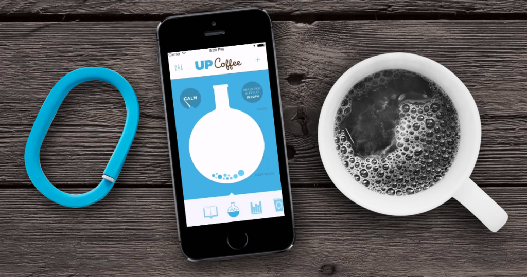 Tracking your latte addiction with the Jawbone UP Coffee app