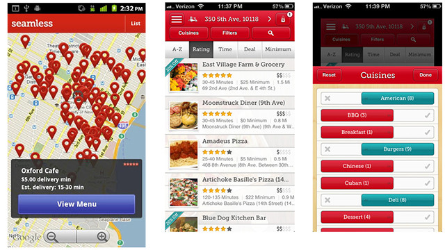 Seamless app for food delivery for Android | Cool Mom Tech