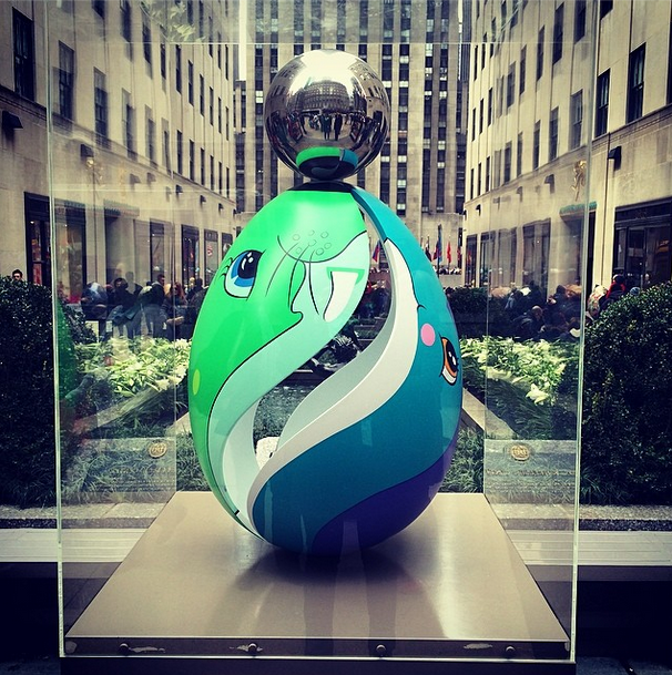 Jeff Koons Easter Egg | photo @hlmurray91