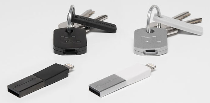 A compact charger small enough for your keychain. It's even called Kii.