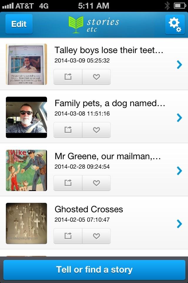 stories etc app on Cool Mom Tech