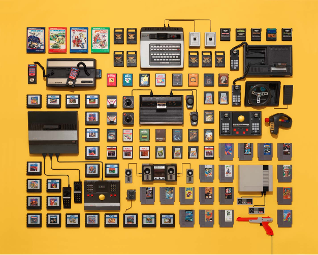 Jim Golden photography - video game collection