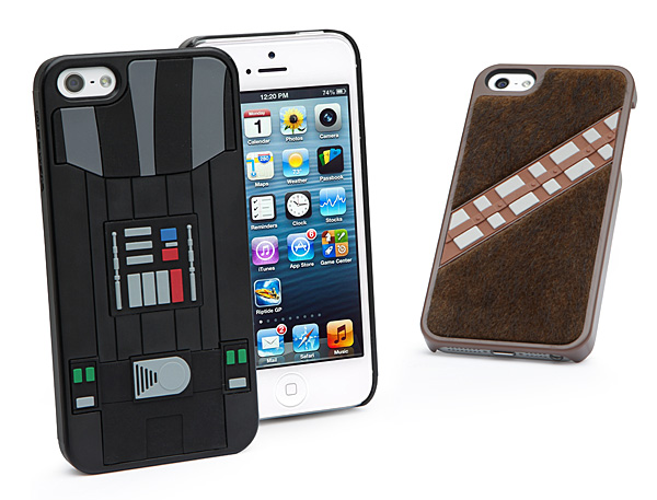 Star Wars iPhone 5 Cases at Think Geek