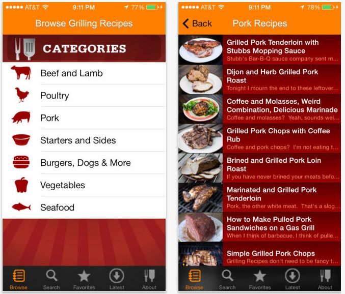 BBQ grill-it app and other great BBQ apps for summer