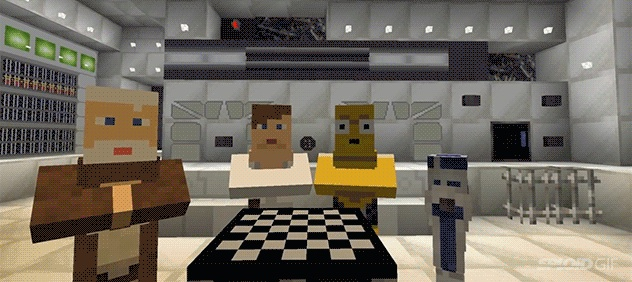 Web Coolness: Star Wars in Minecraft, Forty over 40, and maybe the best use of Photoshop ever.