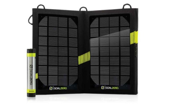 Best tech gear for camping: Goal Zero Solar Kit