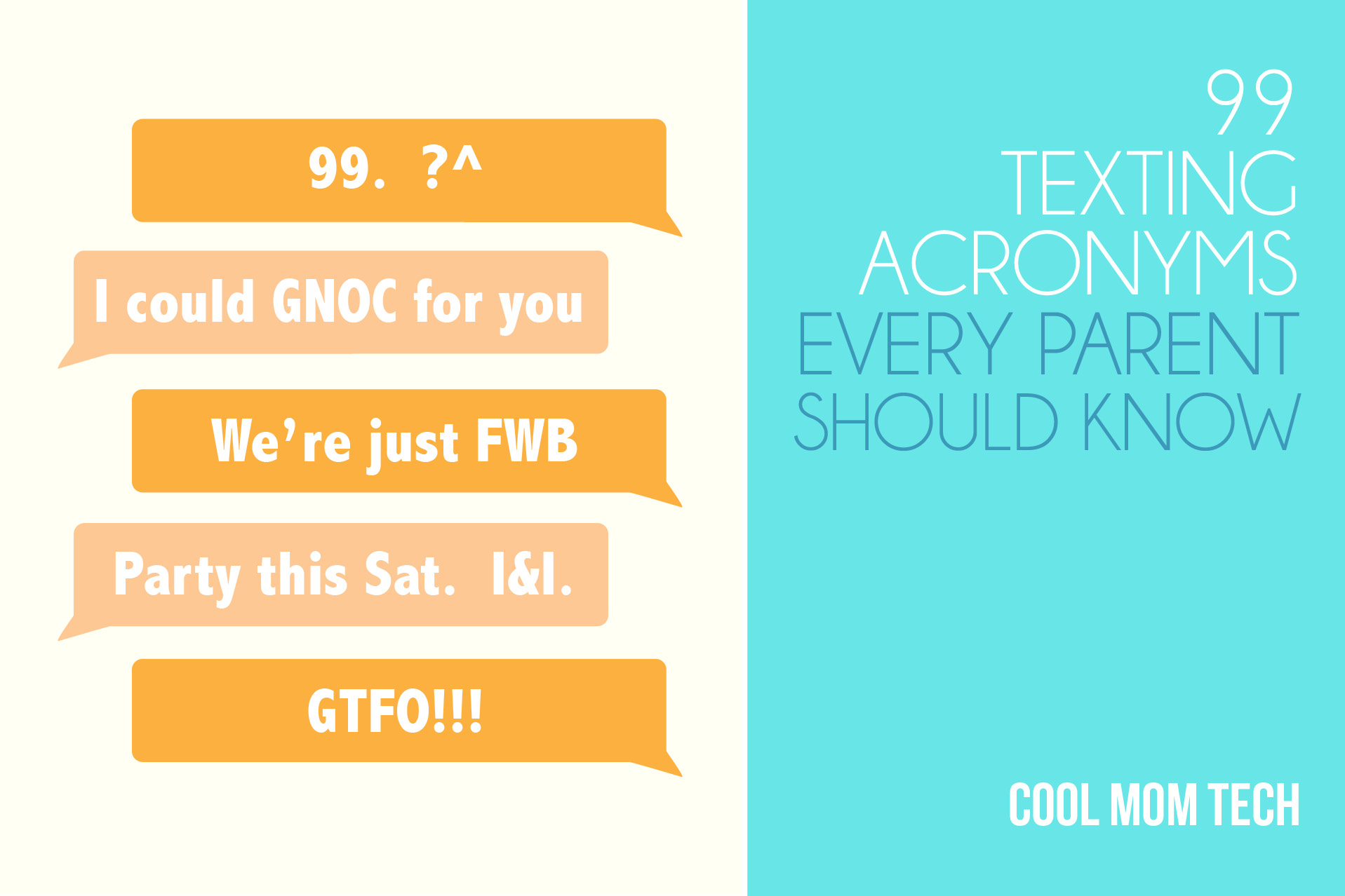 Text abbreviations parents should know