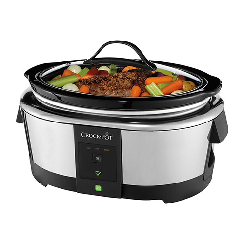 The new Belkin WeMo Crockpot Smart Slo-Cooker: For home cooks who aren't always home.