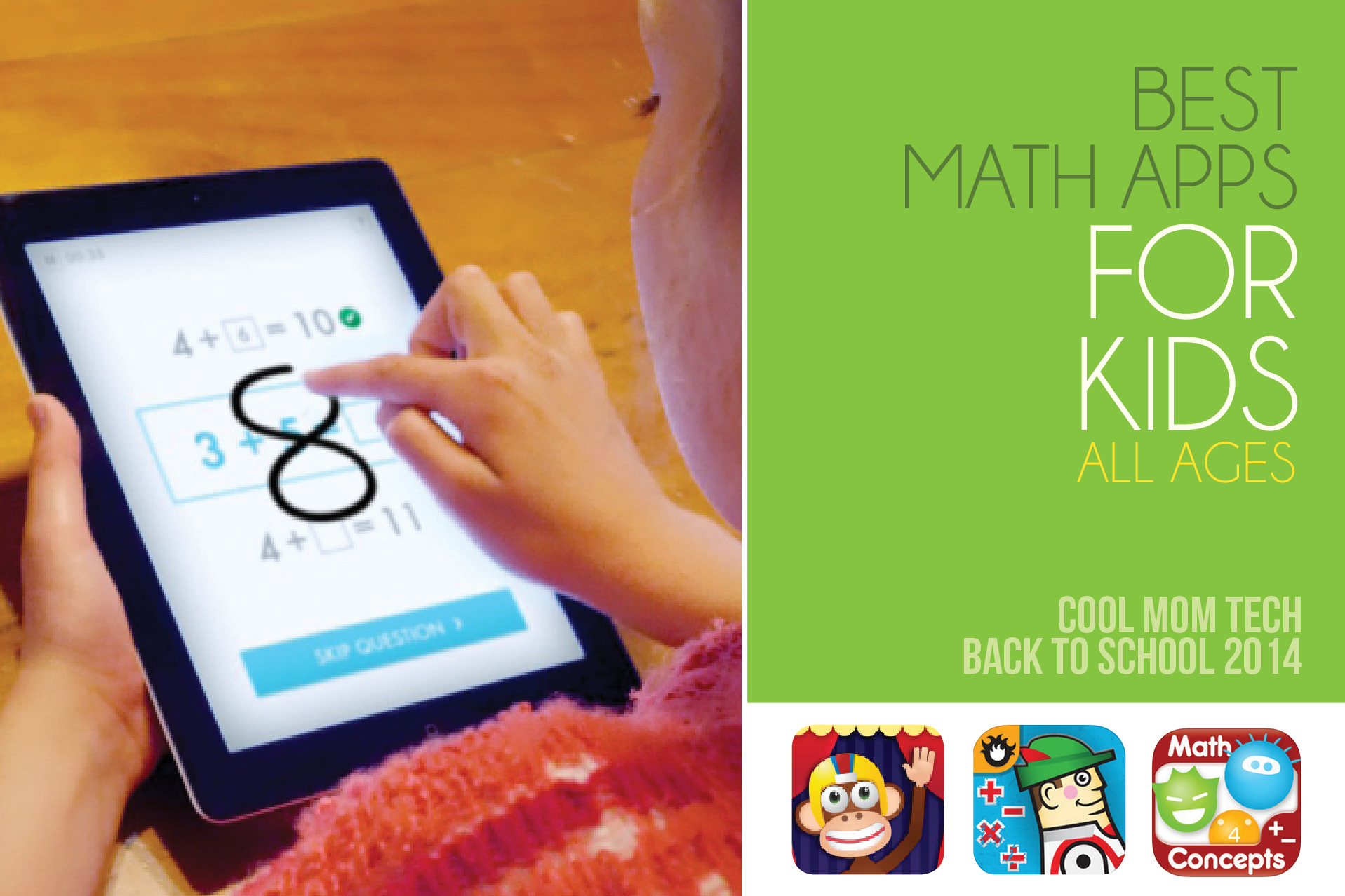 16 best math apps for kids of all ages: Back to school tech guide 2014