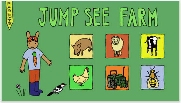 Jump See Farm App: A charming educational app for preschoolers that feels like Sesame Street