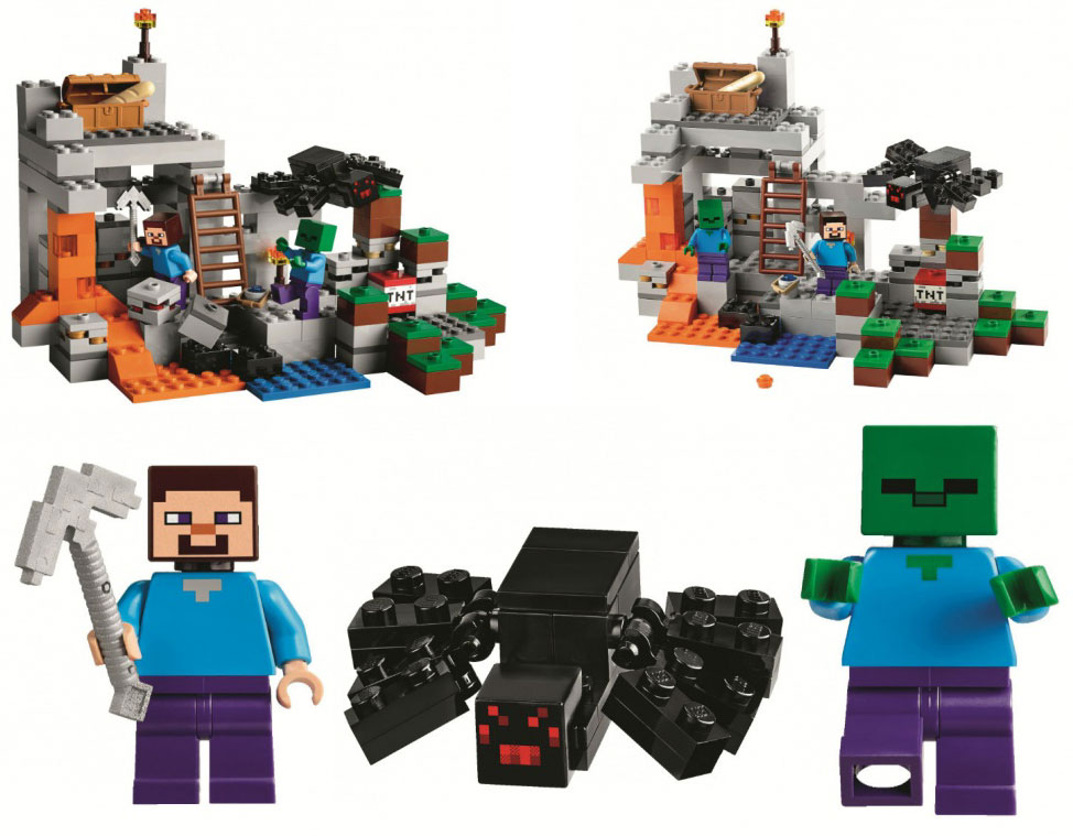 Web Coolness: New LEGO Minecraft sets, Apple iPad rumors, and video games actually help kids read