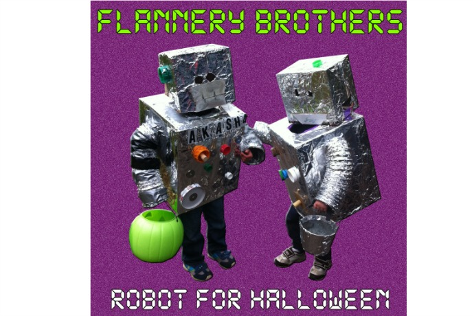 Robot for Halloween by The Flannery Brothers: Kids' free music download of the week