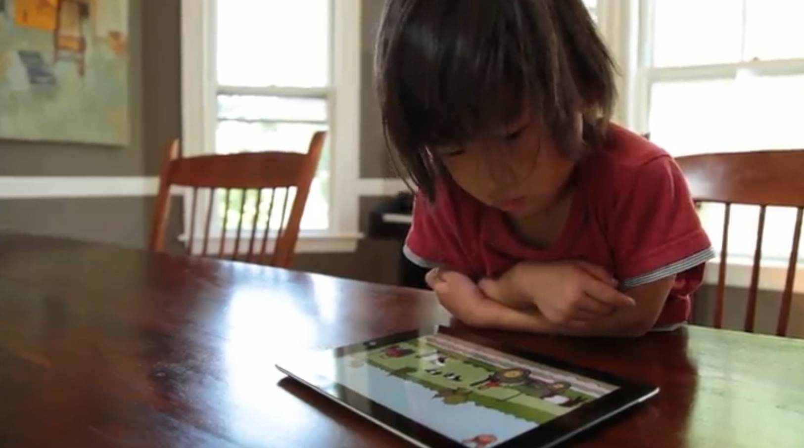 Jump See Farm app: A lovely virtual day at the farm for preschoolers, no Claritin needed.