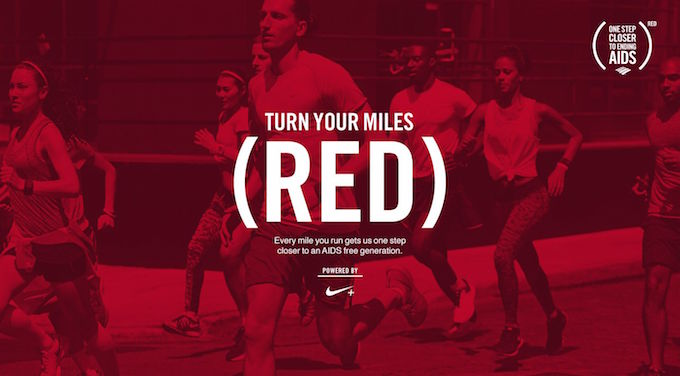 The Nike+ Running app helps turn your miles into life savers.