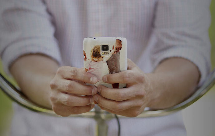 Getincased custom smartphone cases: Impressing the not-so-easily-impressed among us.
