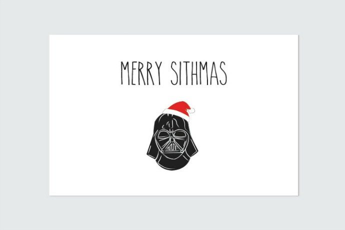 3 geeky holiday cards with a sense of humor