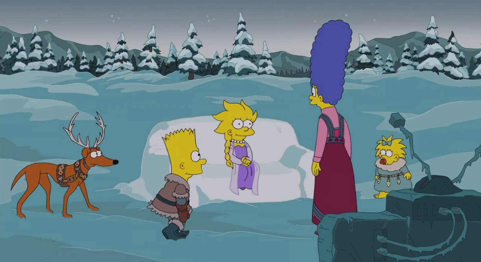 The 2014 Simpsons holiday intro: This time, with more Olaf