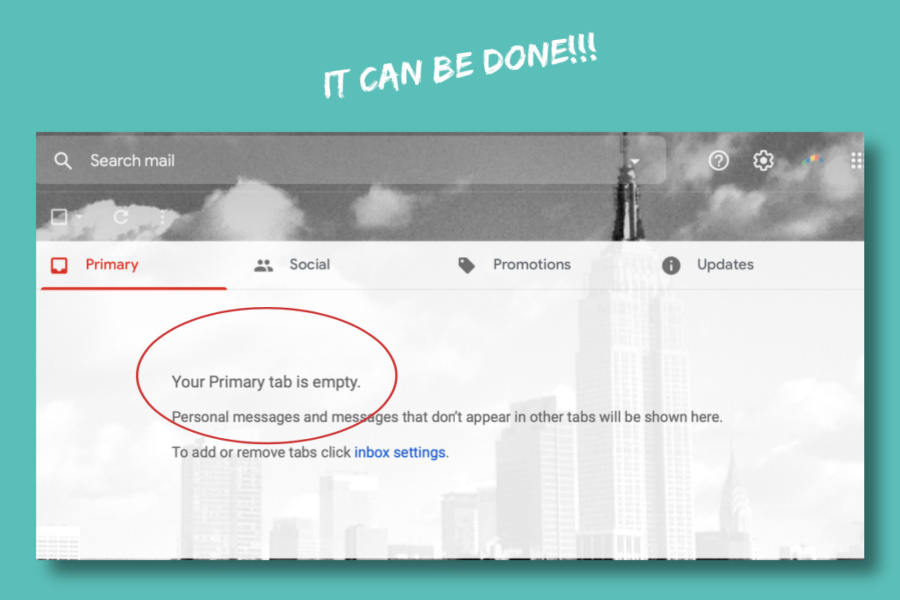How to clean out your inbox: A really simple trick for gmail users