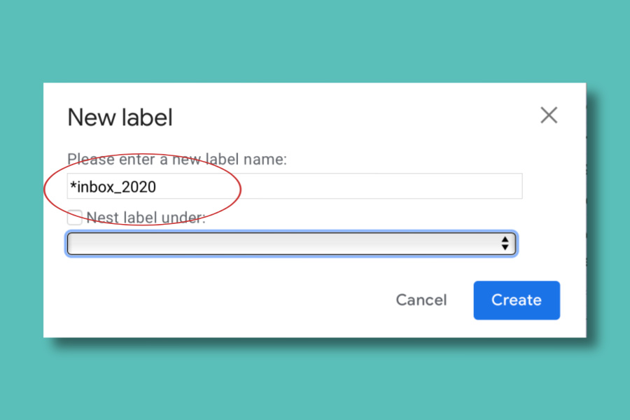 How to create new labels in gmail to help you clean out your inbox