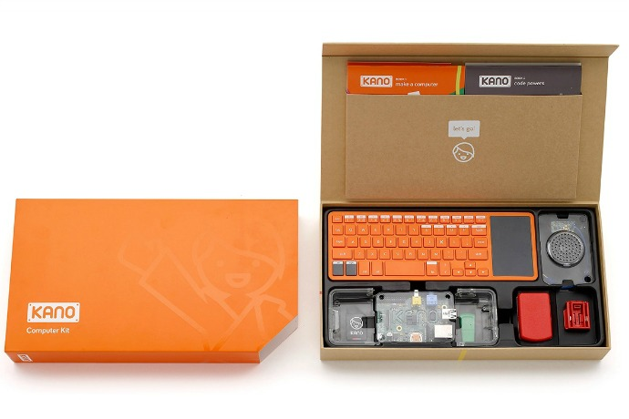 Get started at the very beginning with the Kano computer kit