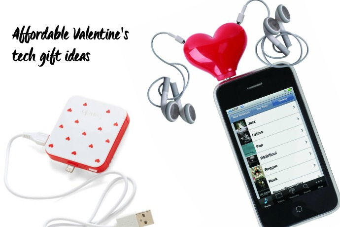 3 affordable Valentine tech gifts for lovers. Or iPhone lovers. Or both.