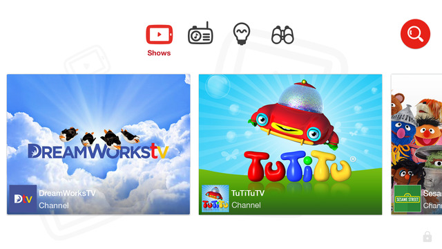 The new YouTube Kids app. For parents with children who love YouTube. AKA all children everywhere.