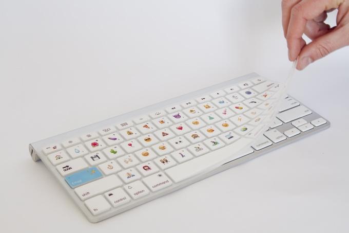 Emoji computer keyboard cover on Kickstarter
