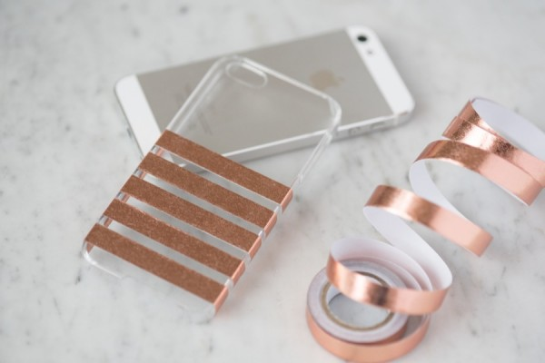 A DIY iPhone case even we can make  Which means your kids probably