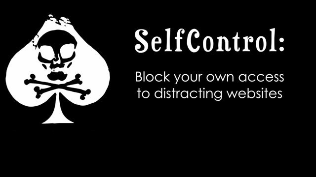 SelfControl app: For those of us who need a major work distraction intervention