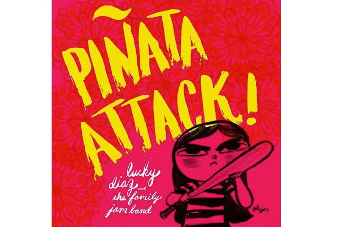 Piñata Attack! by Lucky Diaz: Kids' music download for Cinco de Mayo