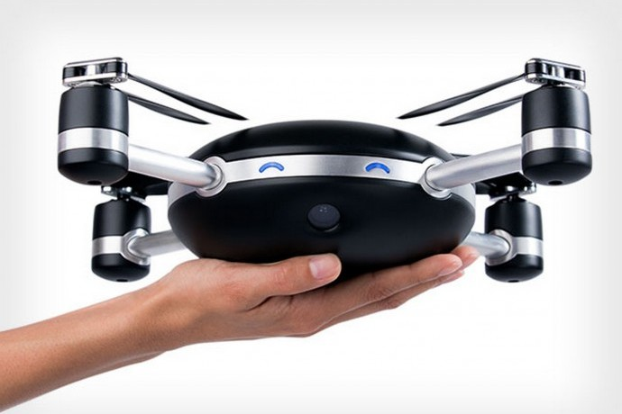 The Lily Camera is the first throw-and-shoot drone. Whoa.