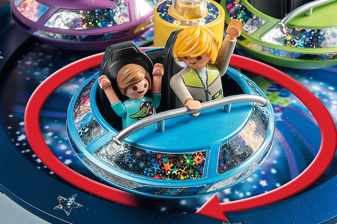 Playmobil toys now with electricity. Creative playtime just got way more interesting.
