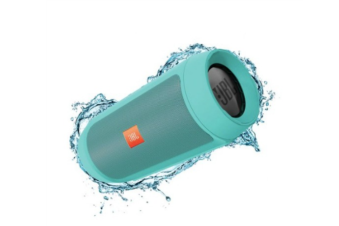 Make a splash this summer with the JBL Charge 2+ portable Bluetooth speaker