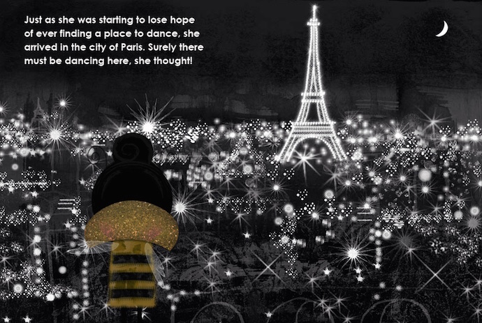 Queen Bee in Paris: Explore France with this illustrated ebook and travel guide for kids