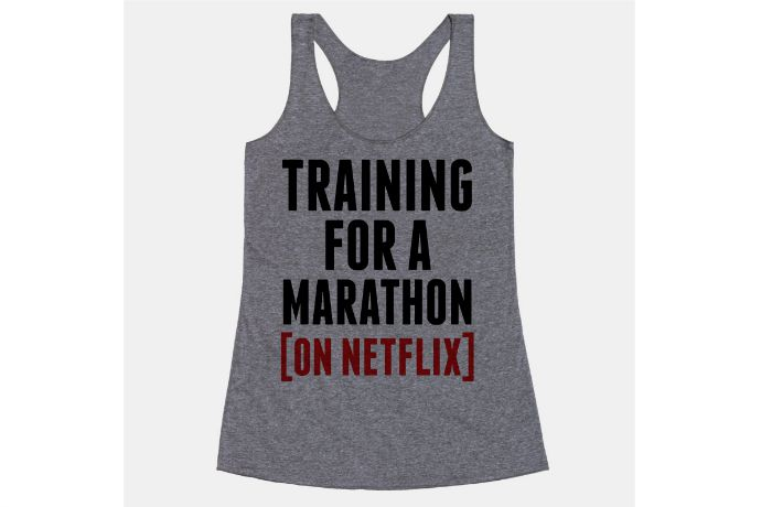 Training for a marathon? Why yes. On Netflix.