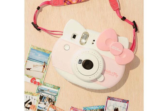 The Fujifilm Instax Mini Hello Kitty camera. One word: Want.