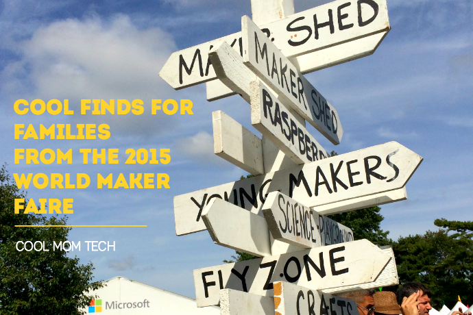 7 cool finds for families from the 2015 World Maker Faire.