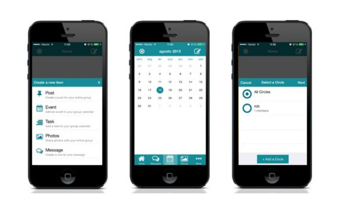 SimplyCircle app | a handy group communications app between parents, schools, clubs and more