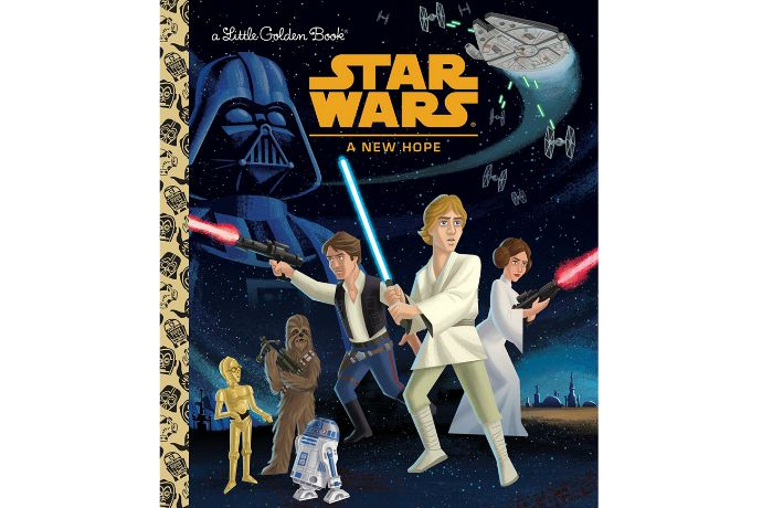 The Star Wars Little Golden Book set: Bedtime stories just got a whole lot geekier.