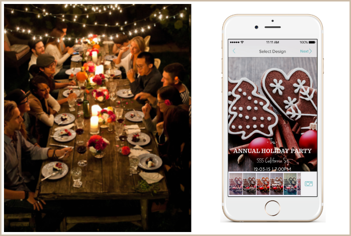 hobnob app a free way to create manage party invites