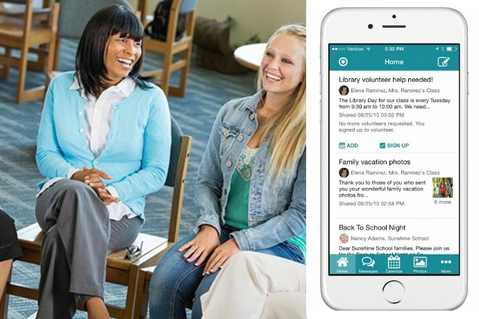 SimplyCircle app streamlines parent-school communication. And parent-soccer team, parent-carpool group, even parent-parent living in the same household. Which we often need too.