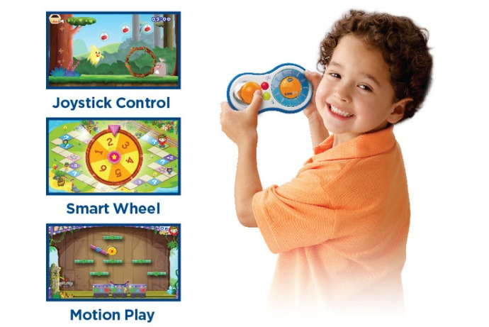 Sponsored Message: An educational gaming system from VTech that turns screen time into learning time